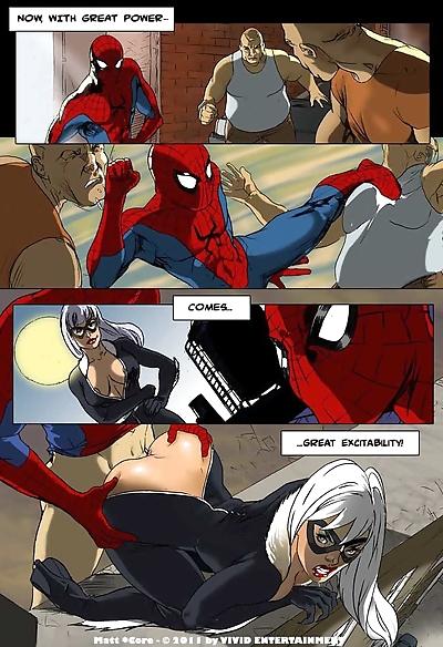 Spiderman- xxx Porn Parody