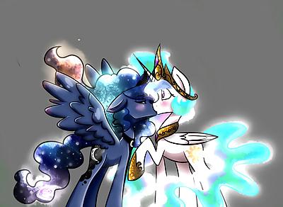 MLP Celestia X Luna - part 3