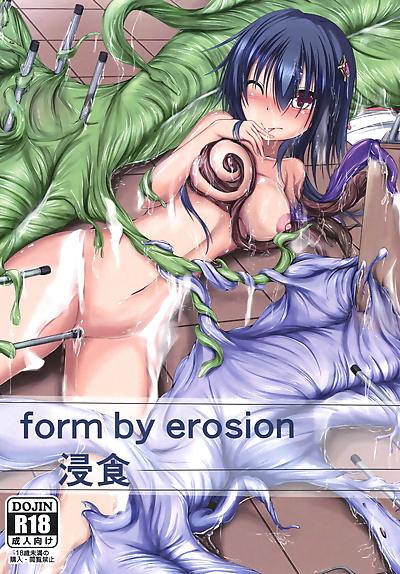 form by erosion Shinshoku