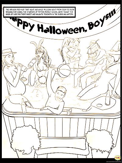 halloween Sesso partito