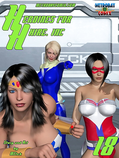 McTek- Heroines for Hire 18..
