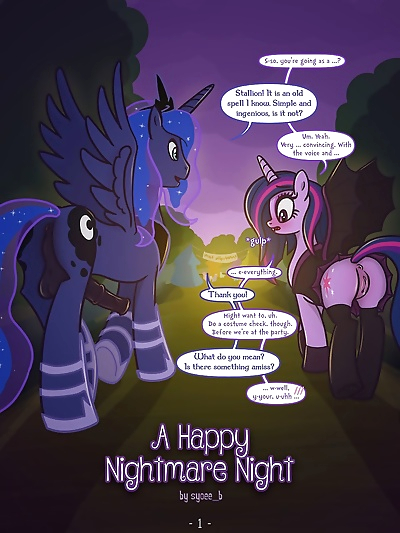 A Happy Nightmare Night