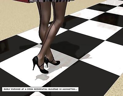 Cheating latina housewife 3d..