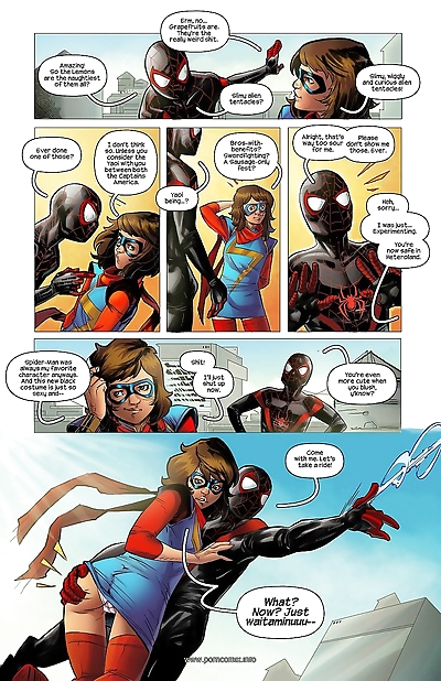 Miss Marvel Spider-Man-..