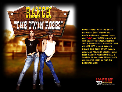 Ranch The Twin Roses. Part 1