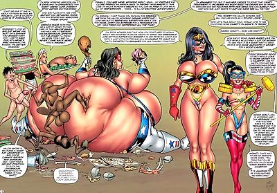 Ms Americana & Wonder Girl..