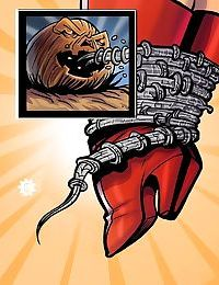 Wonder Woman- Attack of the Great Pumpkin