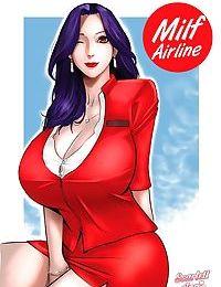 Scarlett Ann- Milf Airline